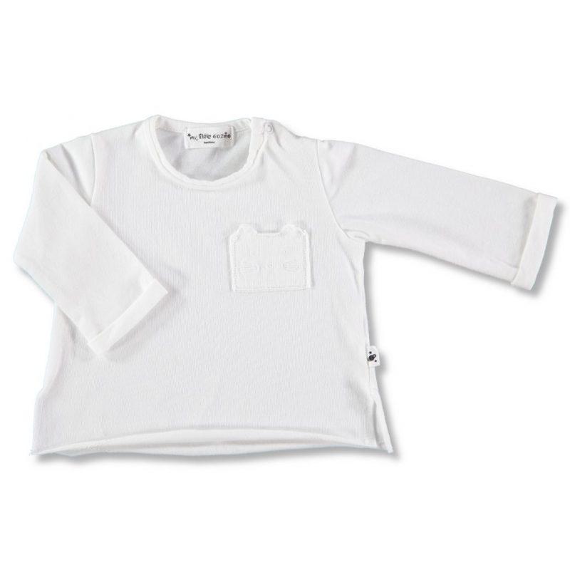 camiseta manga larga lisa