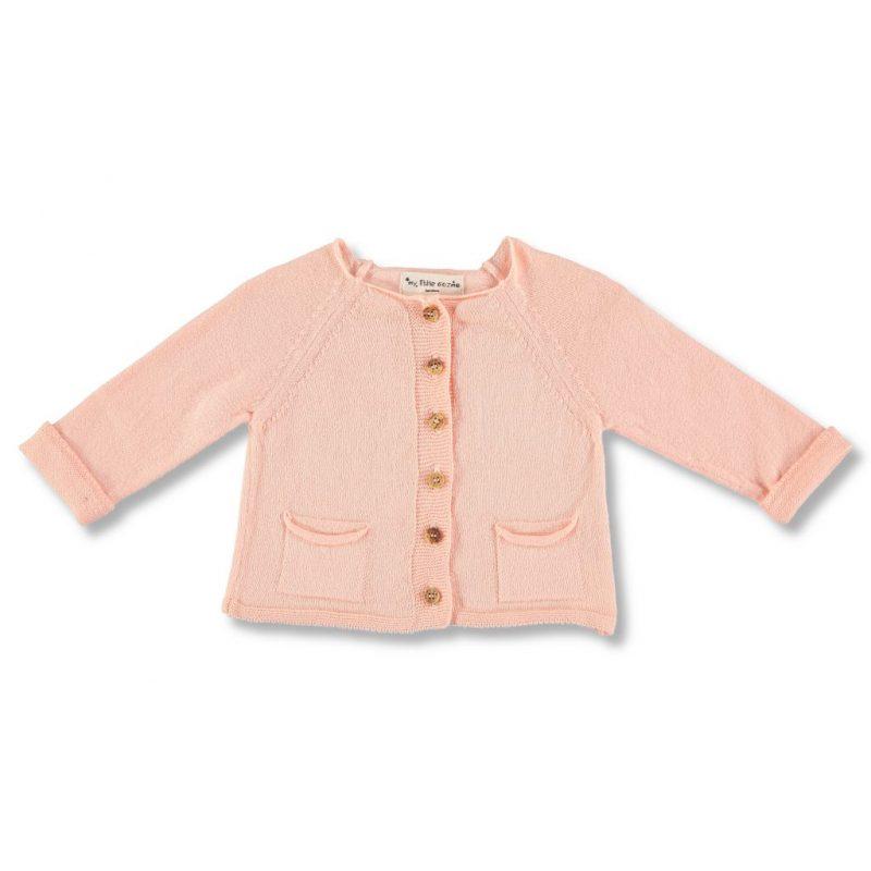 my little cozmo - ropa bebé - Chaqueta de punto con botones