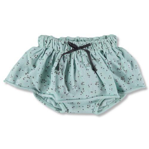 Falda de tops con culotte en mint