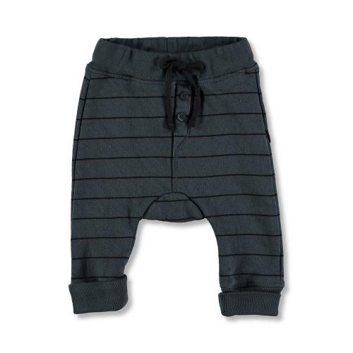 Pantalón de algodón de rayas . Moda infantil