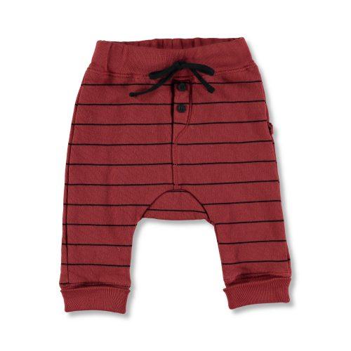 Pantalón de algodón de rayas. Moda Infantil