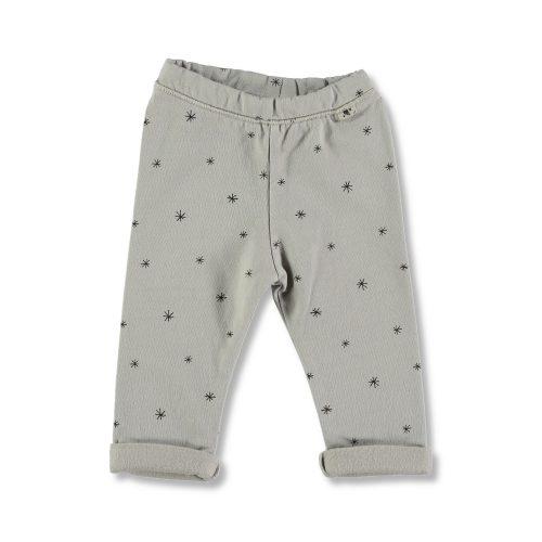 Confortable legging de algodón con estampado de estrellas