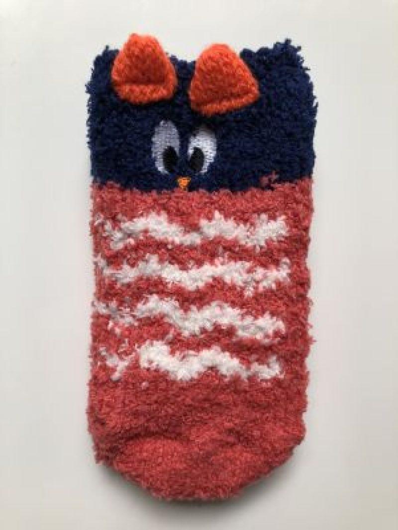 Calcetines antideslizantes en algodón orgánico con divertidos animales. Empaquetados en un formato ídeal para regalo