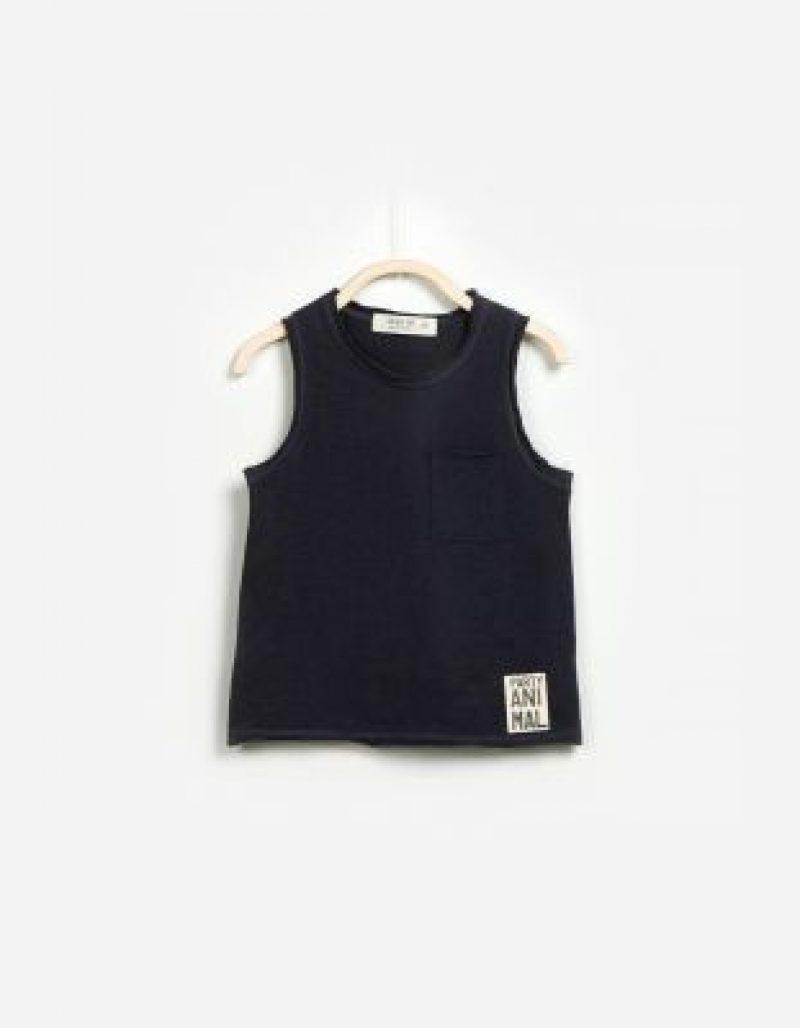 Play Up - Camiseta sin mangas de algodón - Moda Infantil