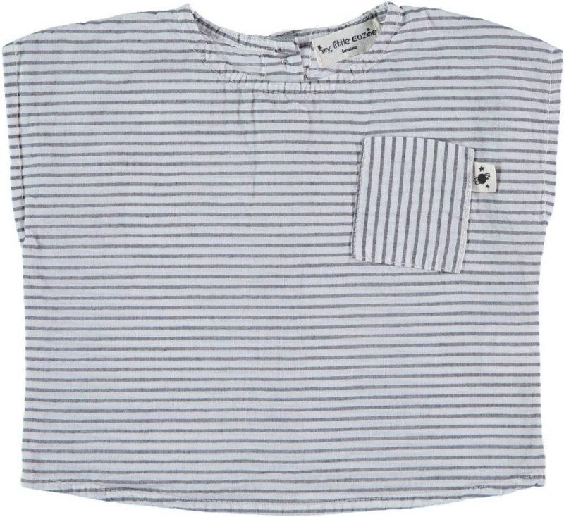 My Little Cozmo camisola de rayas de niño de manga corta