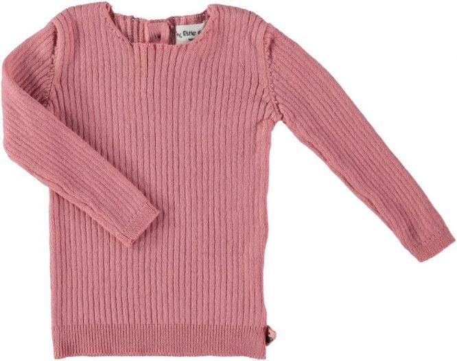 My Little Cozmo jersey liso de canalé