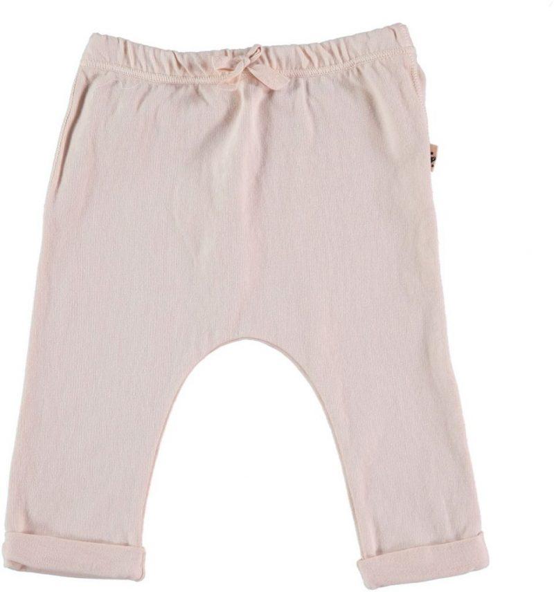 My Little Cozmo Leggings rosa pálido en algodón orgánico