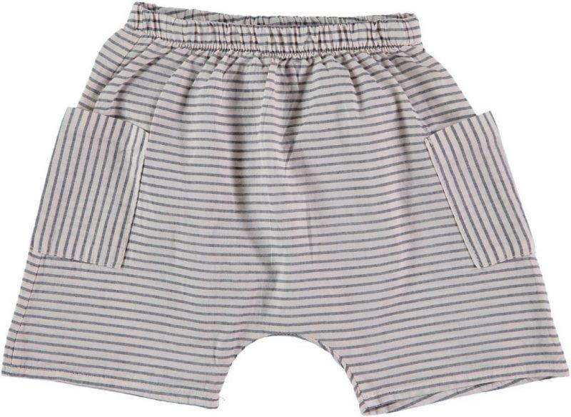 My Little Cozmo pantalones de rayas cortos estilo Baggy