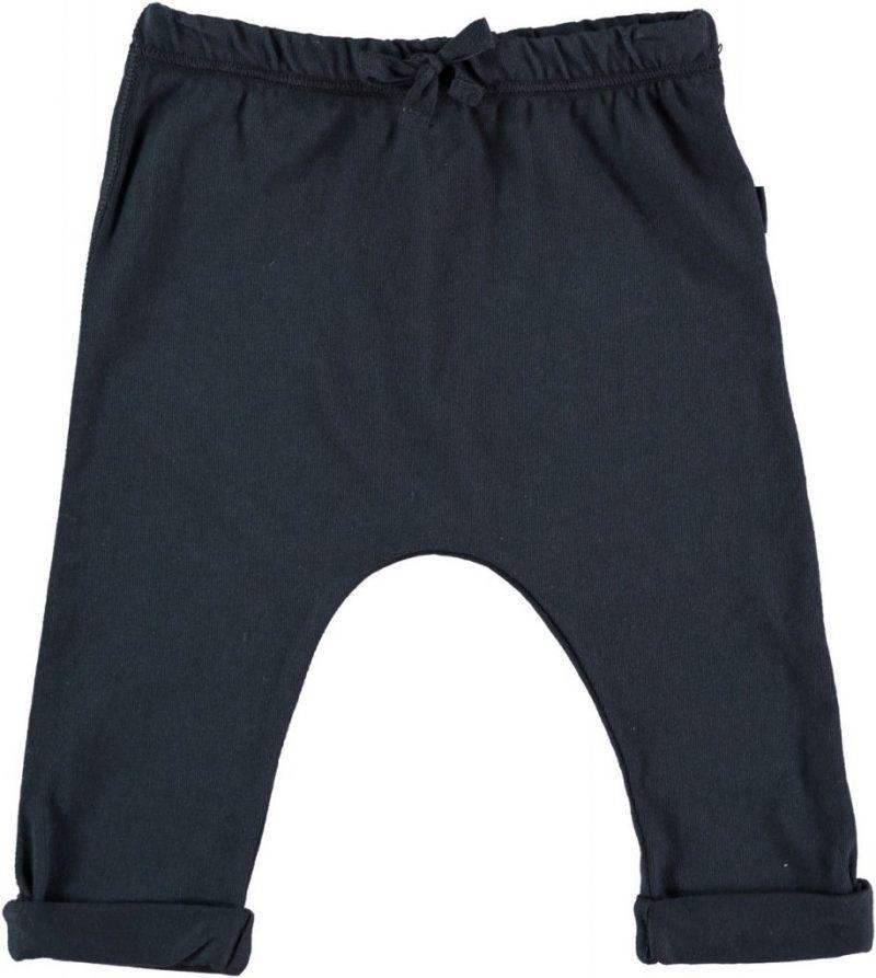 My Little Cozmo Leggings negros en algodón orgánico