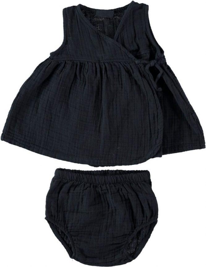 My Little Cozmo Vestido sin mangas negro