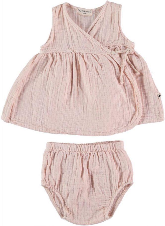 My Little Cozmo Vestido sin mangas rosa pálido