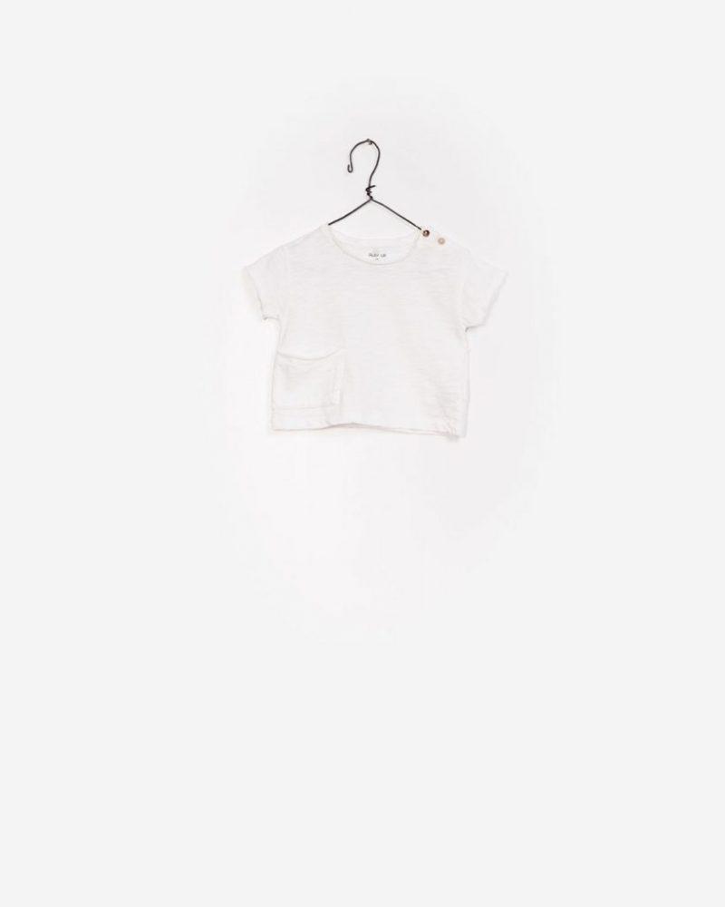 Play Up camiseta de manga corta de algodón orgánico