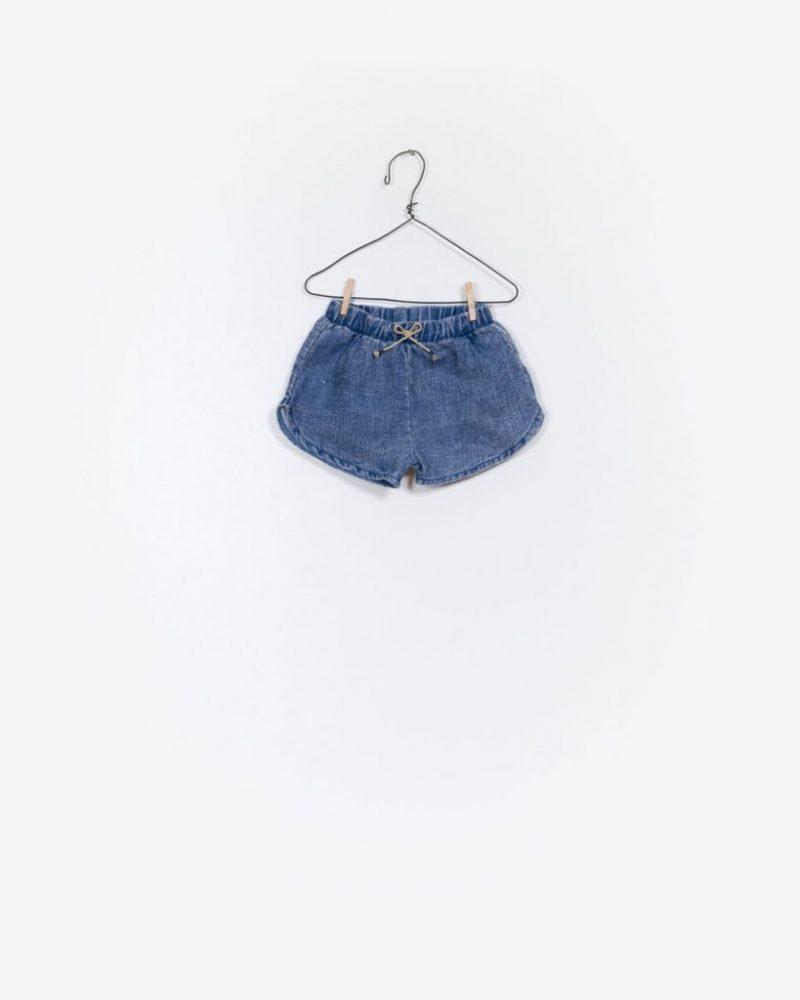 Play Up Pantalones cortes de niña en lino