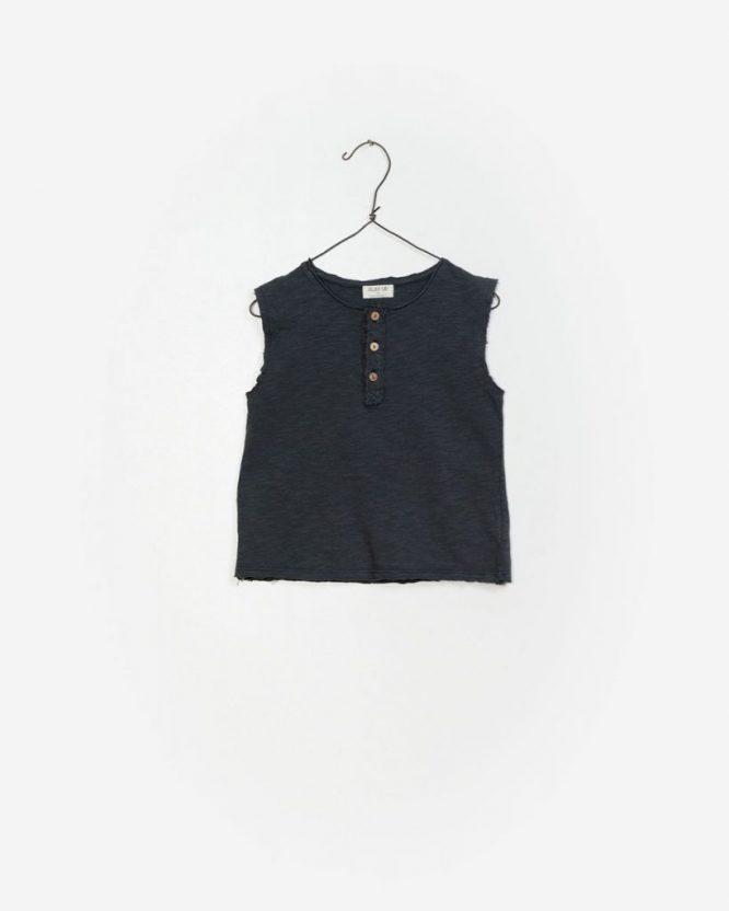 Play Up camiseta de niños de algodón orgánico sin mangas