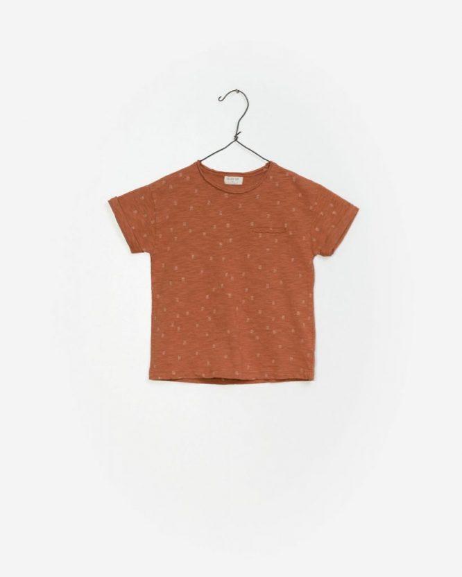 Play Up Camiseta de manga corta estampada en algodón orgánico