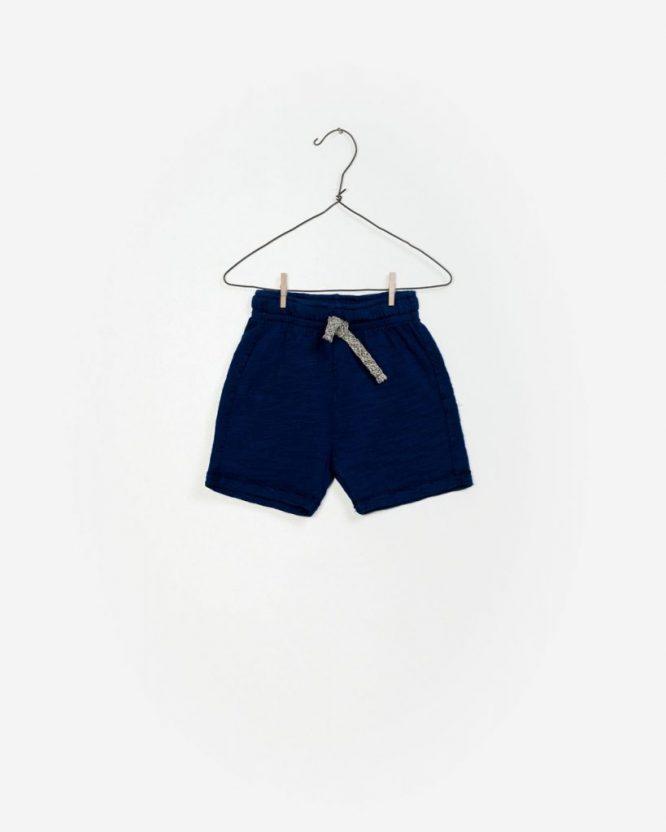 Play Up bermudas azules de algodón para niño
