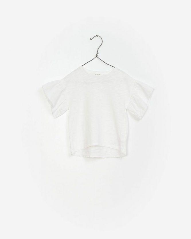 Play Up camiseta de niña de algodón orgánico