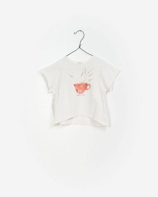 Play Up Camiseta de niña en algodón orgánico