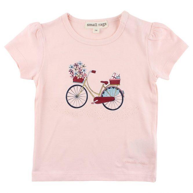 Small Rags camiseta de niña con estampado delantero