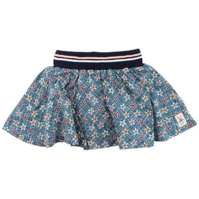 Small Rags falda estampada de vuelo
