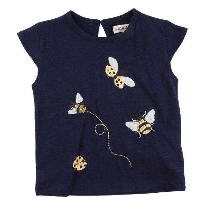 Small Rags Camiseta de niña de manga corta