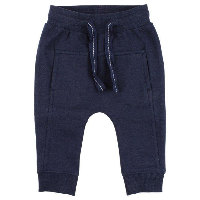 Small Rags pantalón largo de algodón