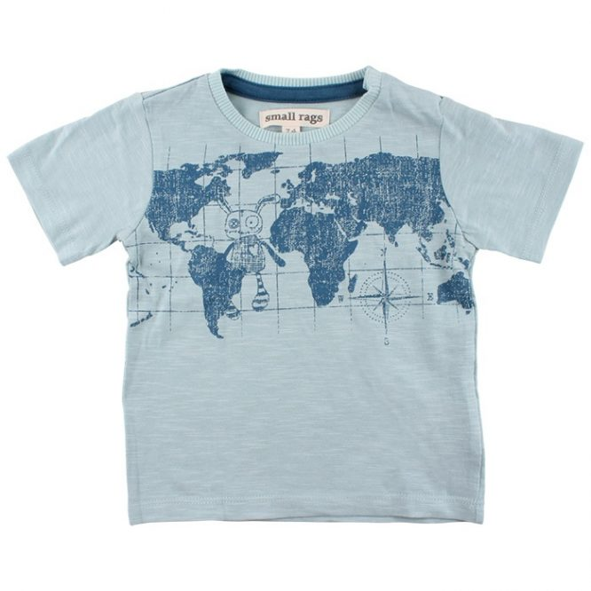 Small Rags camiseta de manga corta