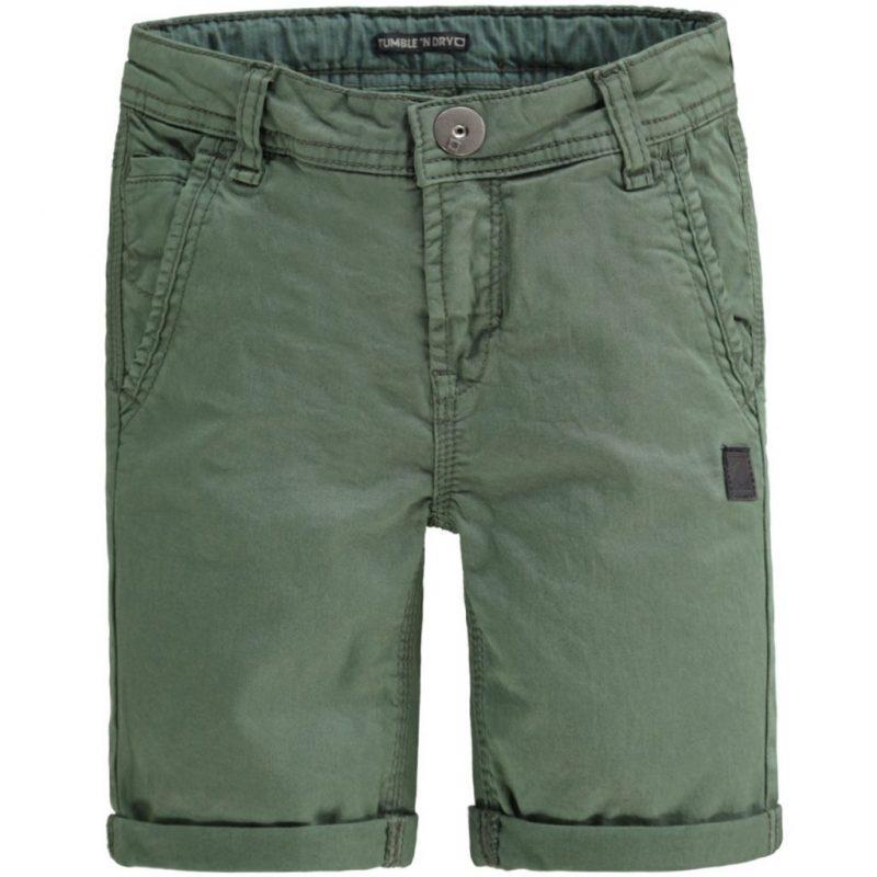 Tumble n Dry pantalones bermudas con stretch de loneta verdes