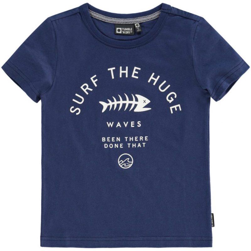 Camiseta de manga corta de Tumble n Dry con estampado delantero