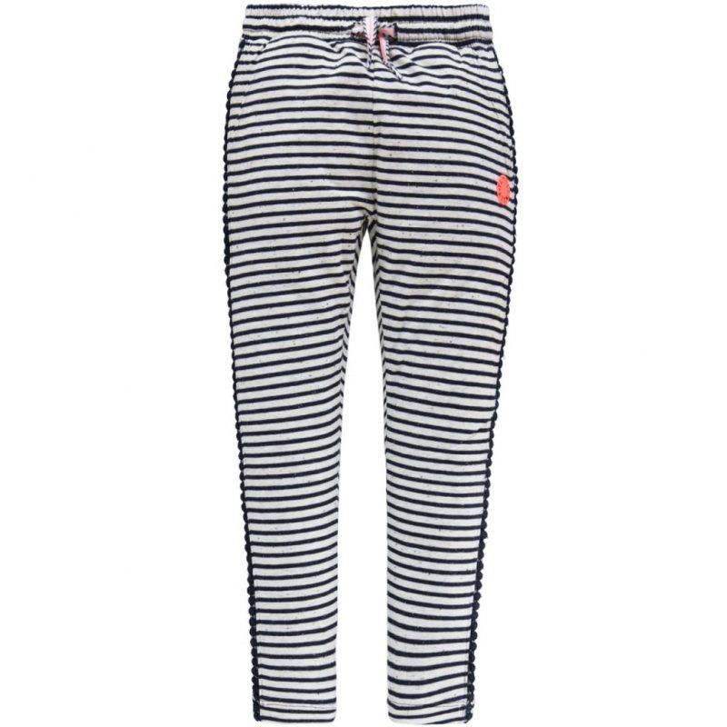Tumble and dry pantalones de rayas largos