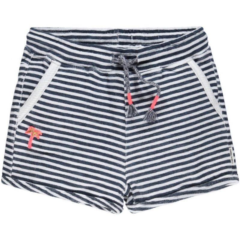 Tumble and Dry shorts de rayas de algodón