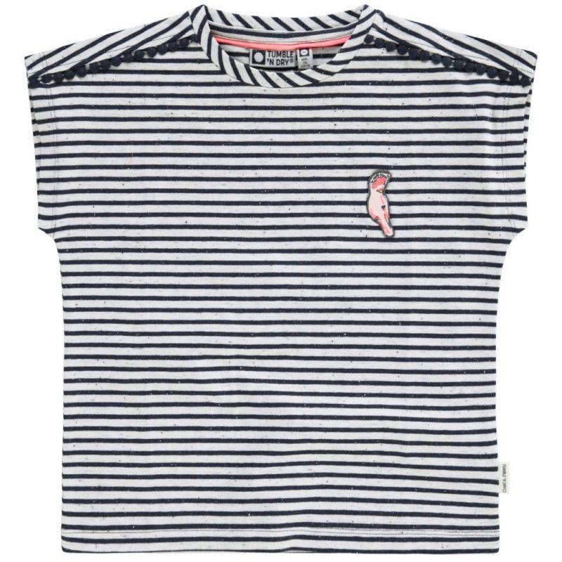 Tumble n Dry Camiseta de rayas de manga corta