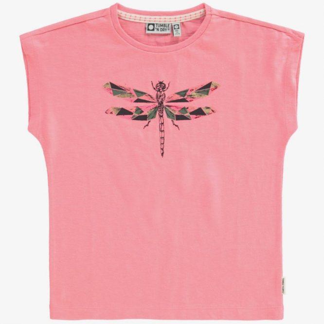 Camiseta de Tumble n Dry con estampado de libelula