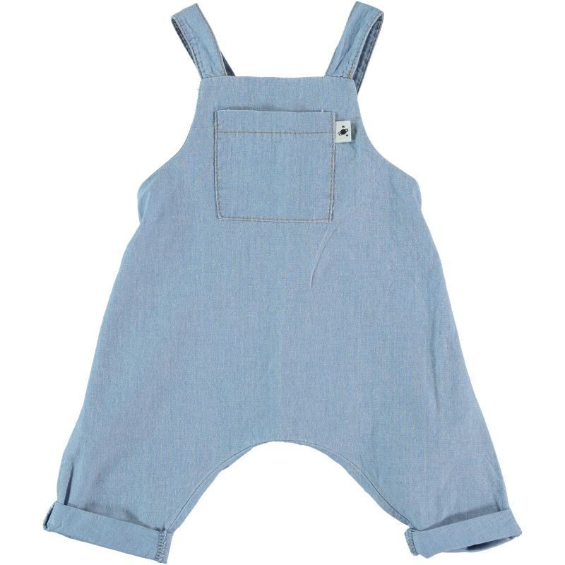 My Little Cozmo peto en Chambray muy fino