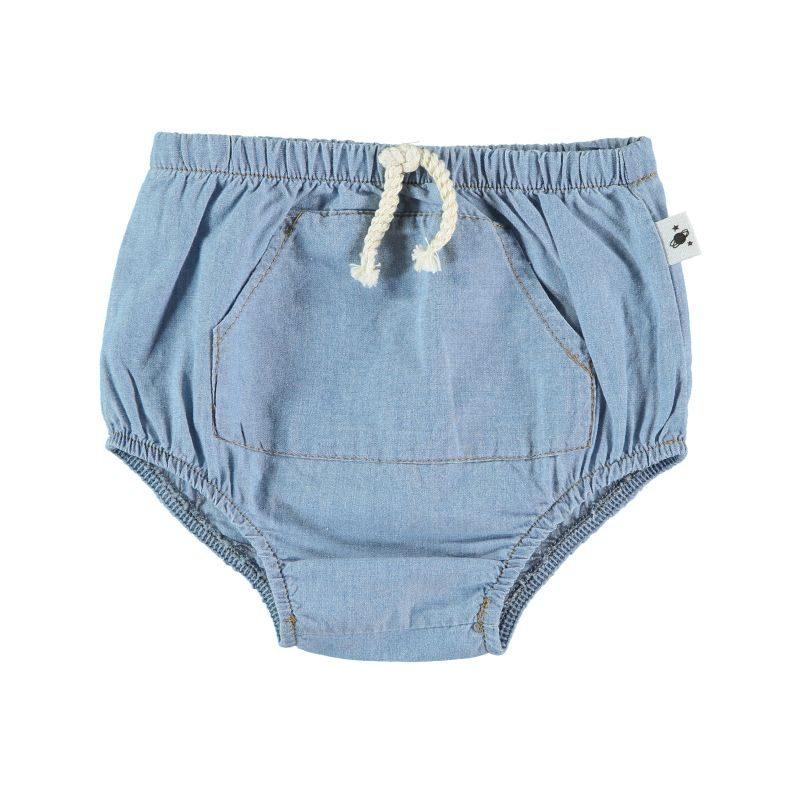 My Little Cozmo culotte en chambray