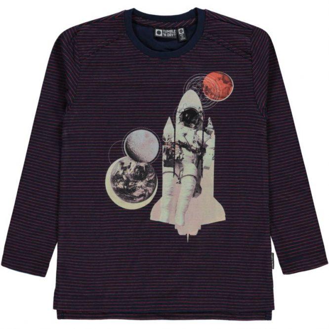 Tumble & Dry camiseta de manga larga de rayas