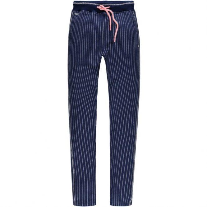 Tumble & Dry pantalón de rayas en algodón