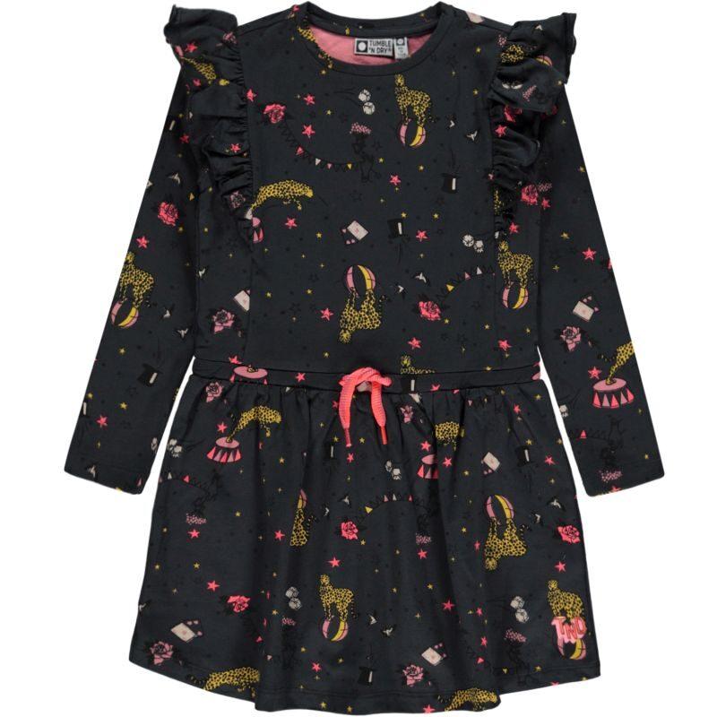 Tumble & Dry vestido estampado de algodón orgánico