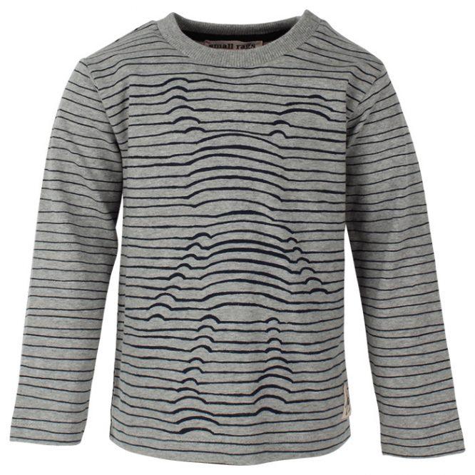 Small Rags camiseta estampada de manga larga