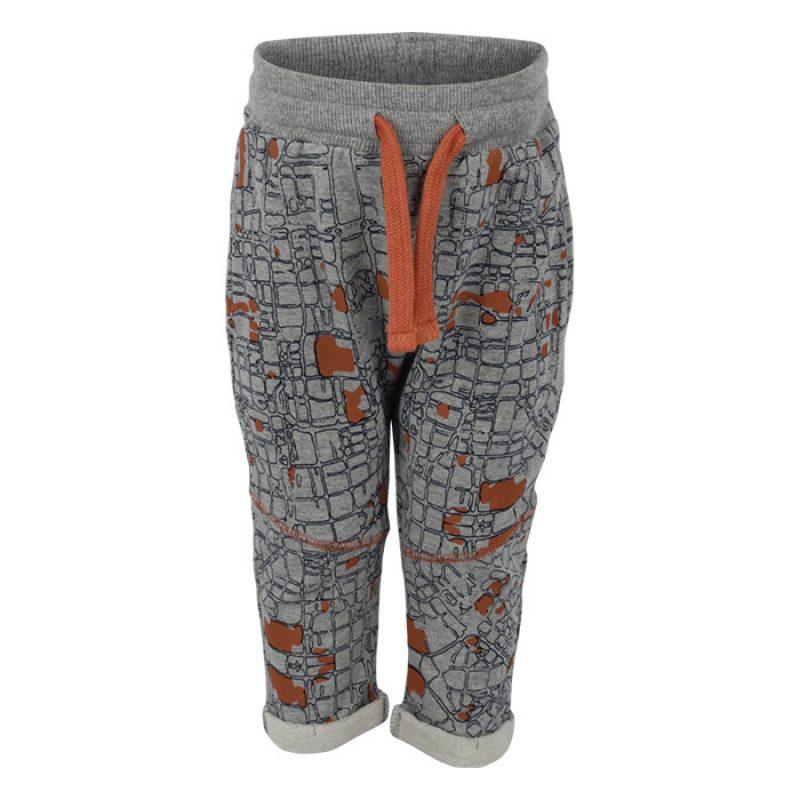 SMALL RAGS divertidos pantalones de chandal con estampado mapa callejero