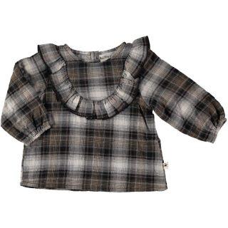 Blusa de cuadros de bebé de My Little Cozmo