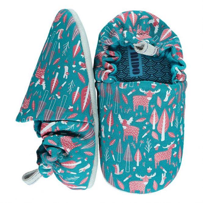 Poco Nido zapatos flexibles con estampados de alces