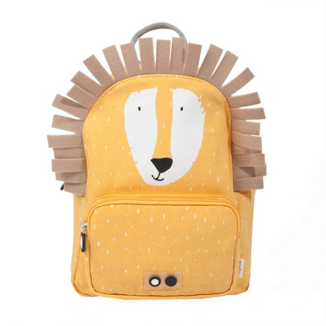 Trixie mochilas originales en forma de divertido león - frontal