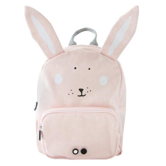 Trixie mochilas originales en forma deconejo rosa - frontal