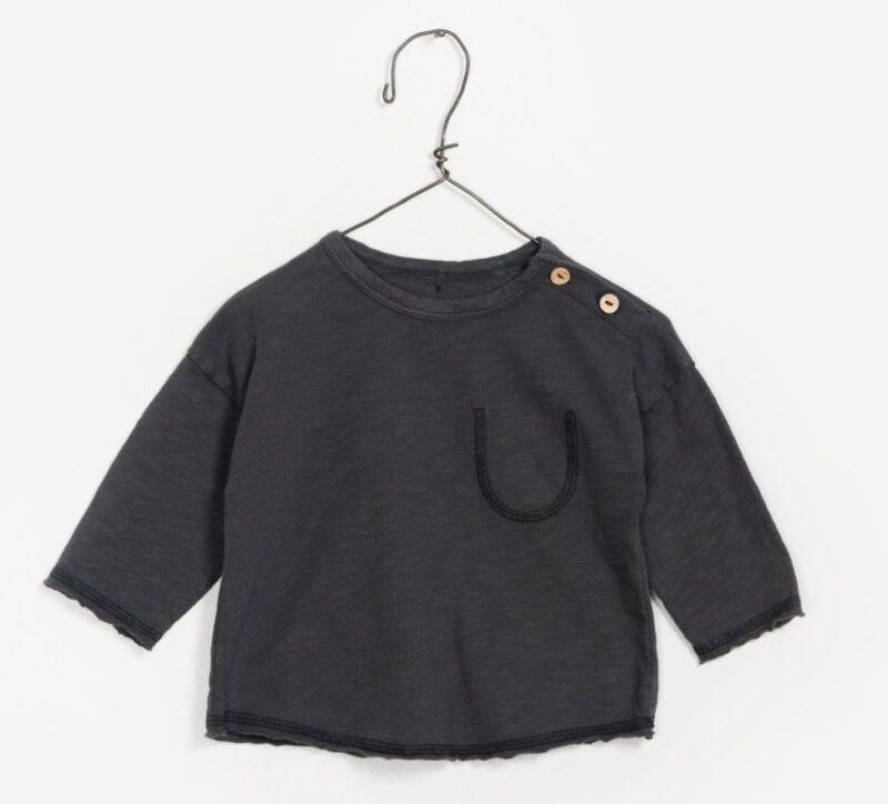 Play Up camiseta de manga larga de algodón orgánico