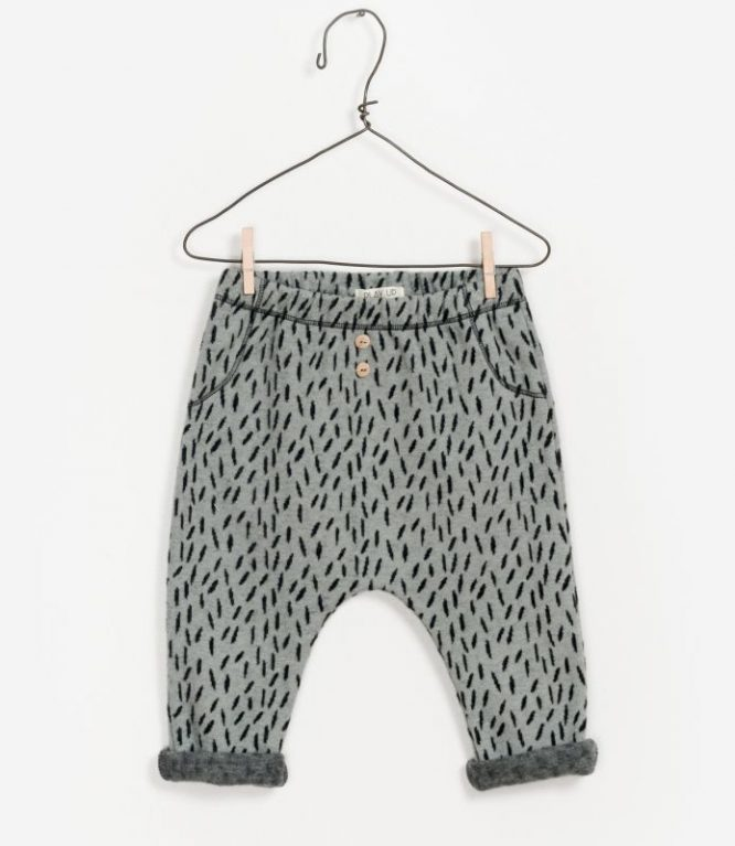 Play Up pantalón de algodón estampado