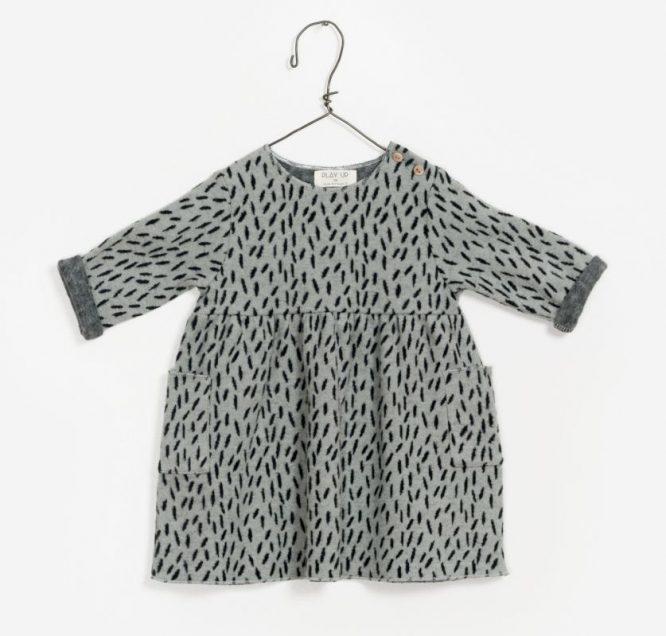 Play up vestido estampado en algodón orgánico