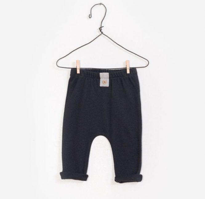 Play Up legging de canalé en algodón orgánico