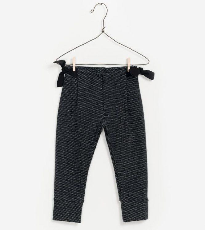 Play Up pantalones interlock en algodón orgánico