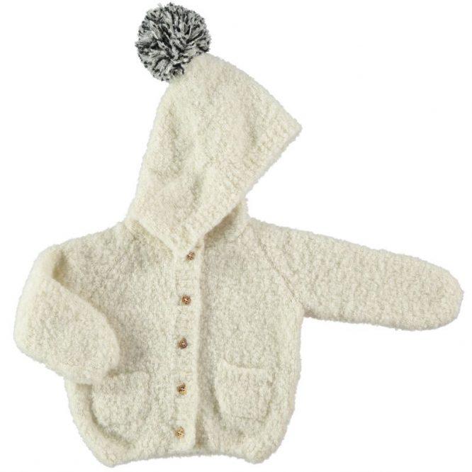 My Little Cozmo chaqueta de punto con capucha